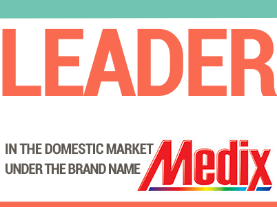 Domestic market leader for homecare products