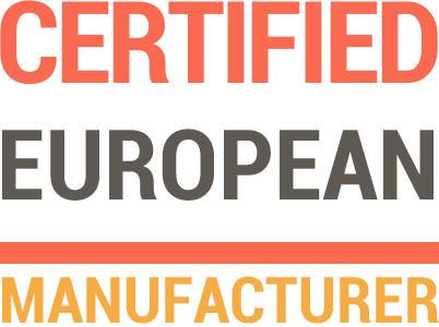Certified European manufacturer