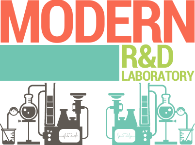 Modern R&D laboratory